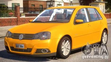 VW Golf Sportline 2012 для GTA 4