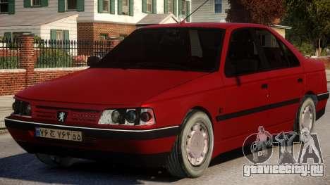 Peugeot 405 GLX Sedan для GTA 4