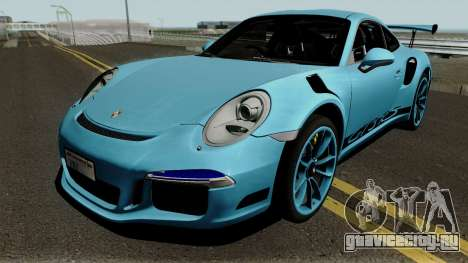 Porsche 991 GT3 RS 2017 для GTA San Andreas