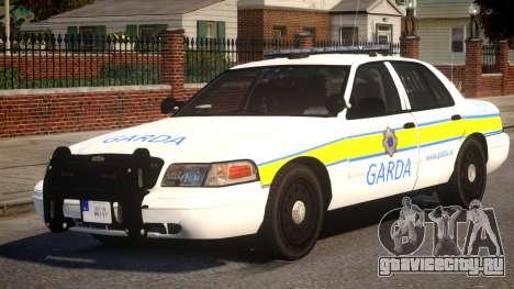 Ford Crown Police для GTA 4