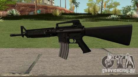 M16A4 Black для GTA San Andreas