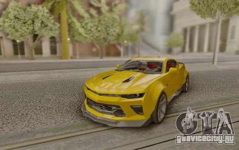 Chevrolet Camaro SS Customized by Alfa Six Des для GTA San Andreas