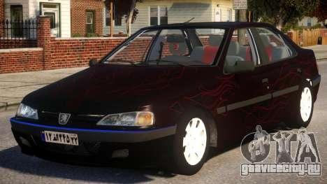 Peugeot Persia P1 для GTA 4