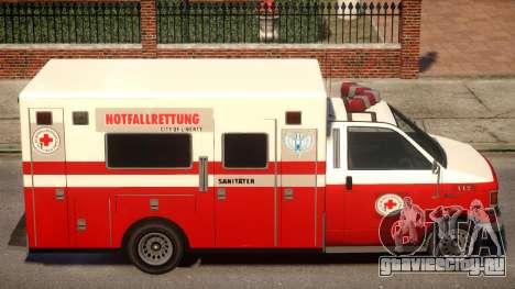 German Krankenwagen для GTA 4