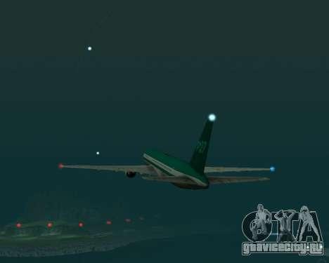 Боинг 767 Р27 Чирок Цвета для GTA San Andreas