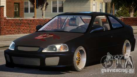 Honda Civic EA Tuned для GTA 4