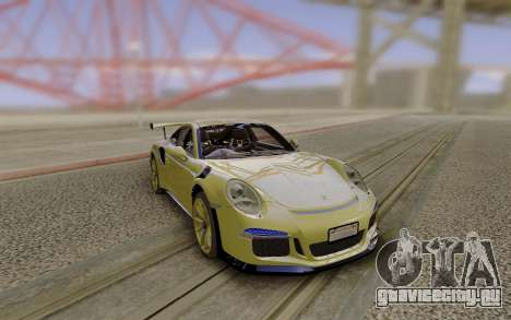 2017 Porsche 991 GT3RS для GTA San Andreas