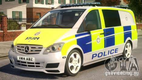 Mercedes-Benz Vito Police V.1.3 для GTA 4