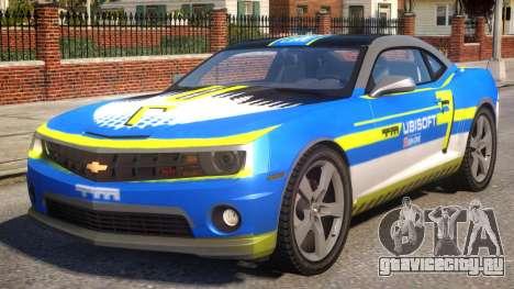 Chevrolet Camaro 2012 Ubisoft Racing Team для GTA 4