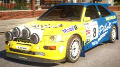 Ford Escort Cosworth RS Rally WRC 3.0 для GTA 4