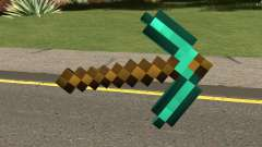 Minecraft Diamond Pickaxe для GTA San Andreas