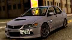 Mitsubishi Lancer Evolution IX Stock для GTA San Andreas