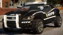 Volkswagen Concept T NYPD для GTA 4
