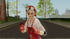 Marie Rose Extra Costume 02 Tita Russell Red для GTA San Andreas