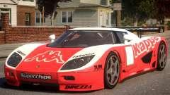Koenigsegg CCGT (GRID) PJ4 для GTA 4