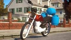 Honda CG 125 для GTA 4