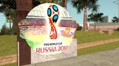 FIFA World Cup Russia 2018 Stadium для GTA San Andreas