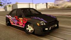 Subaru Impeza WRX STI Black для GTA San Andreas