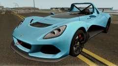 Lotus 3 Eleven 2016 для GTA San Andreas