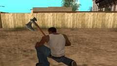 Hacha Leviathan God of War 4 для GTA San Andreas