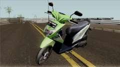 Honda BeAT FI Green STD для GTA San Andreas