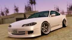Nissan Silvia S15 Classic White для GTA San Andreas