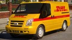 Ford Transit DHL для GTA 4