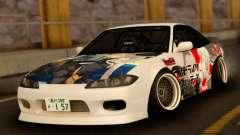 Nissan 180SX Facelift Silvia S15 Japan для GTA San Andreas