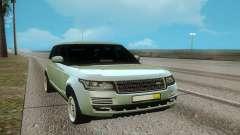 Land Rover Range Rover White для GTA San Andreas