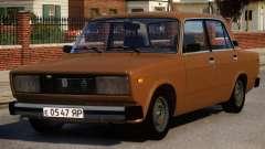 VAZ 2105 Stock для GTA 4