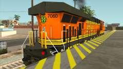 GE ES44DC - Reverse Cab для GTA San Andreas