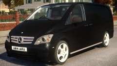 Mercedes-Benz Vito Police V.1 для GTA 4