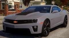 Chevrolet Camaro ZL1 V1 для GTA 4