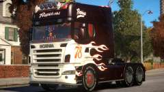 Scania R580 Longline Custom PJ7 для GTA 4