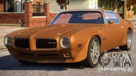 1970 Pontiac Trans Am для GTA 4