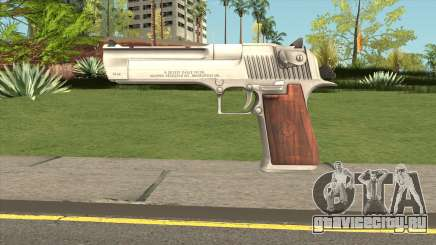 Desert Eagle Silver для GTA San Andreas