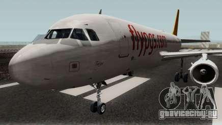 Pegasus Airlines Airbus A320-200 для GTA San Andreas