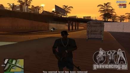 Взятка полиции CLEO скрипт для GTA San Andreas