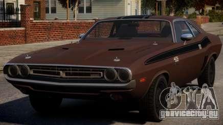 Dodge Challenger 1971 PJ6 для GTA 4