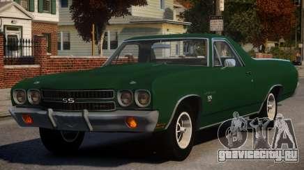 Chevrolet El Camino SS 454 v1 для GTA 4