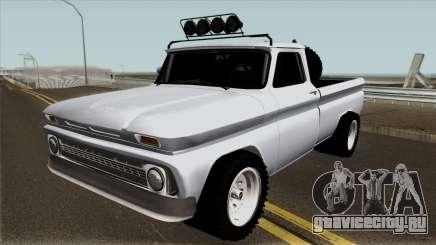 Chevrolet C10 Белый для GTA San Andreas