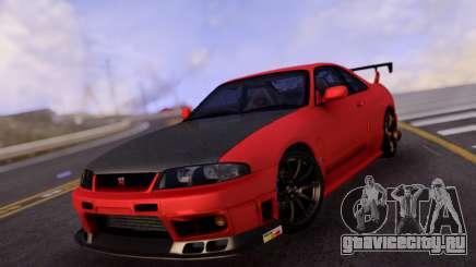 Nissan Skyline R33 GT-R Carbon для GTA San Andreas