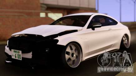 Mercedes-Benz C63 S AMG Damaged для GTA San Andreas