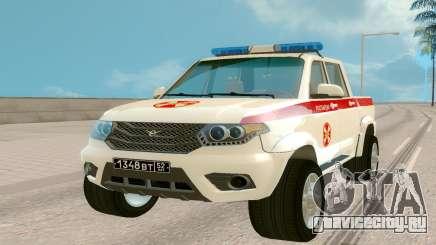 УАЗ Пикап (Росгвардия) для GTA San Andreas