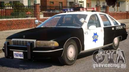 1991 Chevrolet Caprice для GTA 4