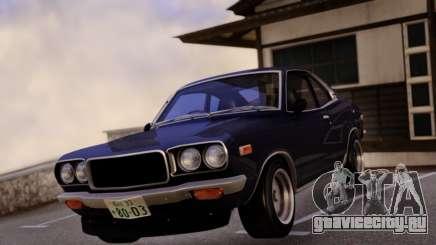 Mazda RX-3 Stock RHD для GTA San Andreas