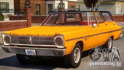 Plymouth Belvedere V1.2 для GTA 4