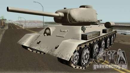 T-34-85 (SA Style,Low Poly) для GTA San Andreas