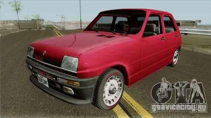 Renault 5 TL для GTA San Andreas