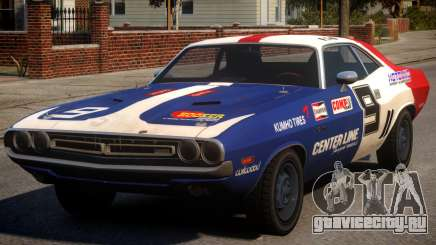 Dodge Challenger 1971 PJ8 для GTA 4